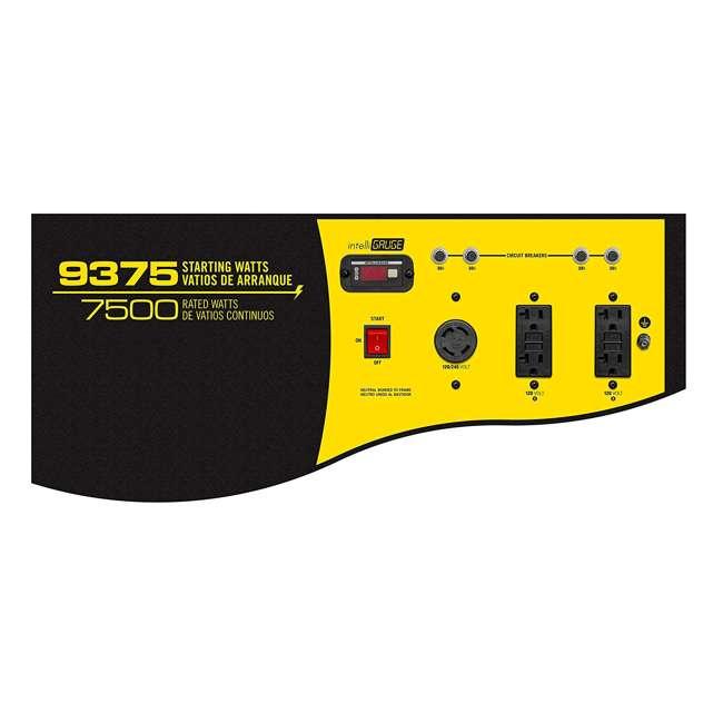 CPE-GN-100219 Champion 7500-Watt Portable RV-Ready Gasoline Generator (2 Pack) 4