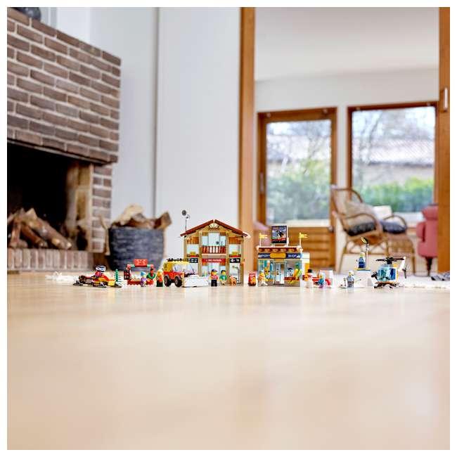 6283902 LEGO City 60203 Winter Ski Resort Building Kit 806 Pieces w/ 11 Minifigures 7