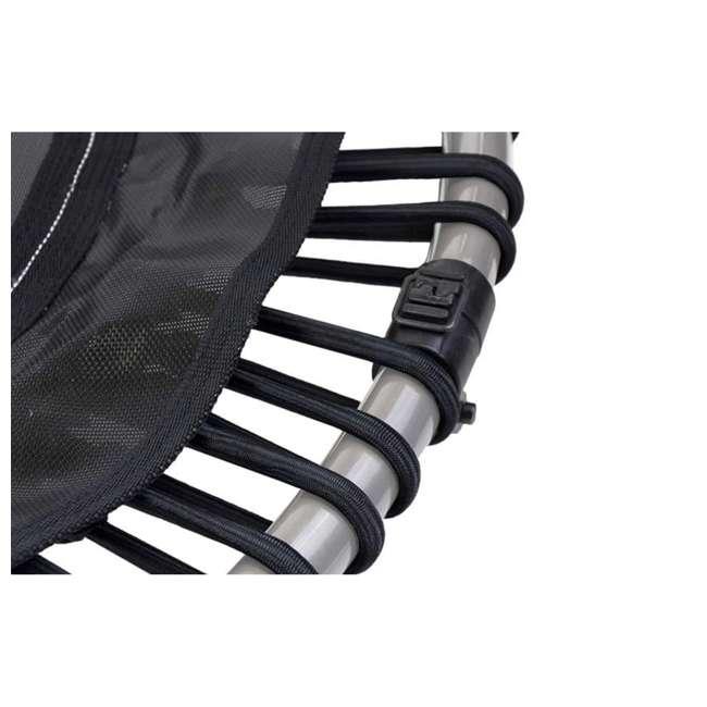 RBJ-S-20665-00 JumpSport 550f PRO Indoor Lightweight 44-Inch Folding Fitness Trampoline, Black 1