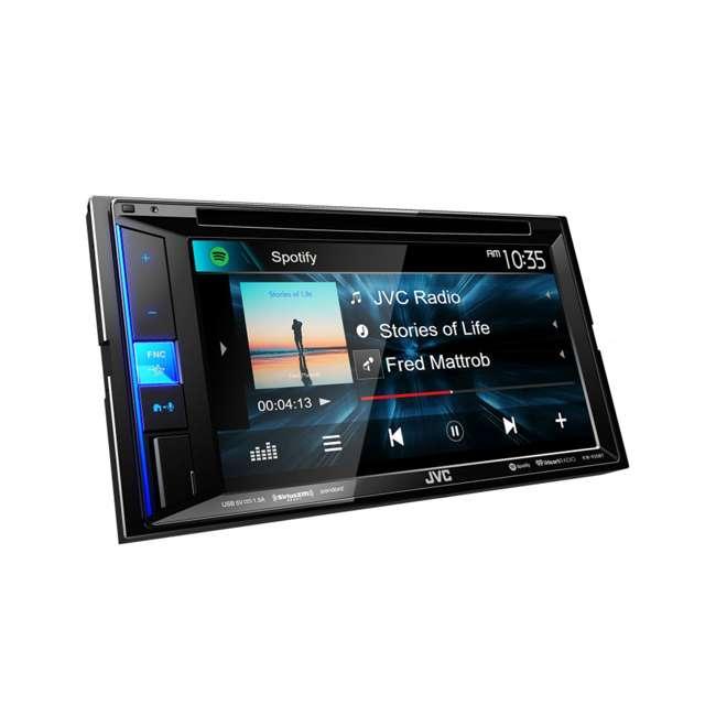 KW-V25BT JVC Mobile KW-V25BT 6.2 inch In-Dash Multimedia DVD Receiver  4