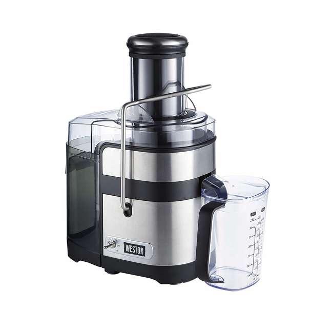67902 Weston 67902 1,100 Watt 3.5 Inch Super Chute Fruit Extractor Automatic Juicer