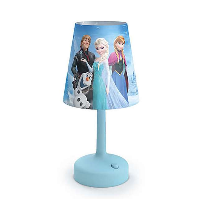 PLC-7175190U0 + PLC-7179608U0 + PLC-7175101U0 Philips Disney Dory Light with Frozen Lamp and Lampshade and Anna Nightlight 2