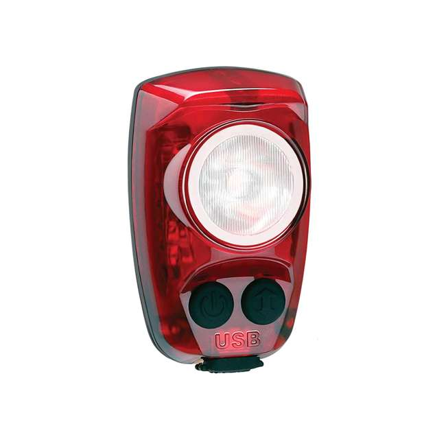 HS-150-USB Cygolite Hotshot Pro 150 Lumen USB Flashing LED Rear Tail Mount Bike Light, Red