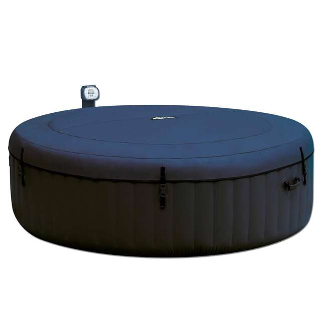 28409E + 28500E + 28501E Intex PureSpa 6 Person Outdoor Hot Tub with Headrest, Cup Holder and Drink Tray 2