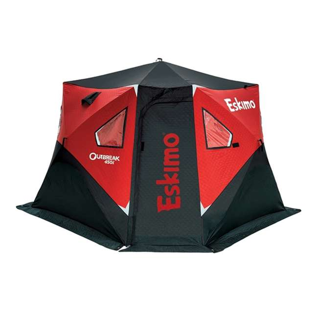 ESK-32100 Eskimo 32100 Outbreak 450i 5-Person Insulated Ice Fishing Shelter