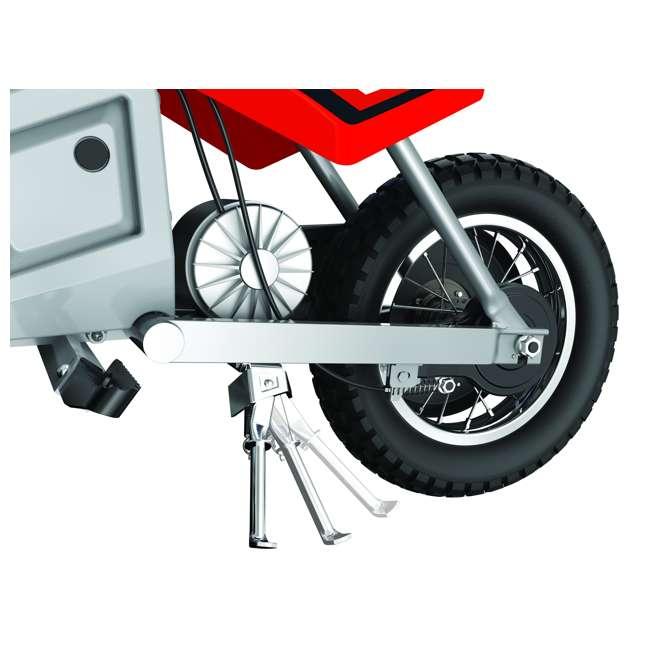 15128095 + 97775 + 96785 Razor MX350 Dirt Rocket Bike with Helmet, Elbow & Knee Pads 4