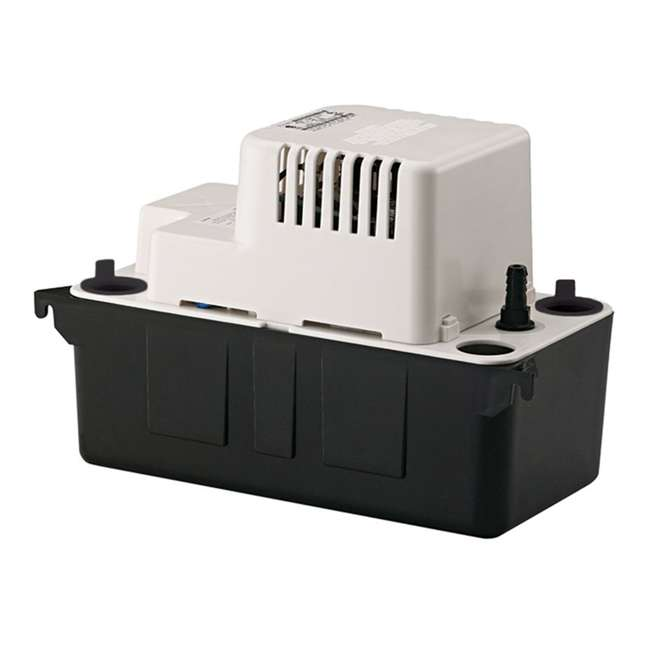 LG-554401 Little Giant VCMA-15UL Series 1/50 HP 1/2 Gallon Tank Condensate Removal Pump