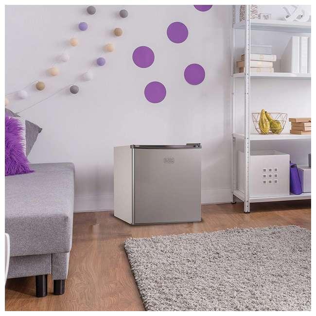BCRK17V Black & Decker Compact Portable Single Door Refrigerator/Freezer  3