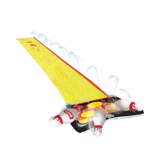 WMO-64703 Wham-O 64703 Splash 'N Bowl Outdoor Slip 'N Slide Sports with 6 Inflatable Pins