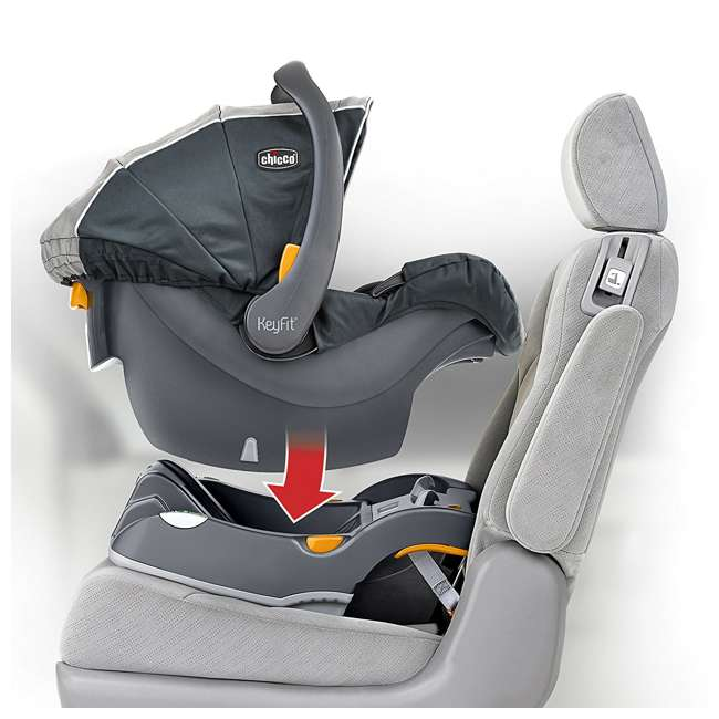 CHI-0007974872-OB Chicco Cortina CX Travel System, Iron Gray (OPEN BOX) 2