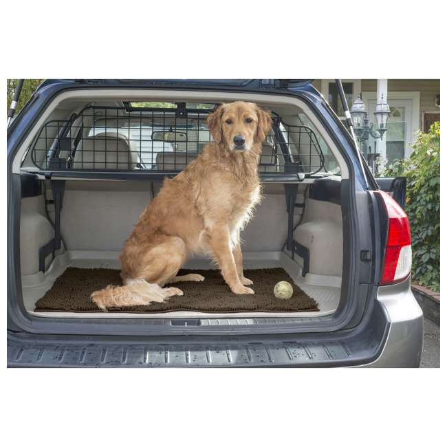 80551613 Furhaven 80551613 Jumbo Absorbent Runner Muddy Paws Towel and Shammy Rug, Sand 3