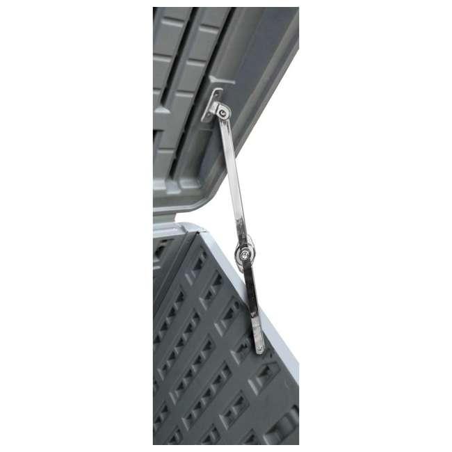 HDEDB130WLG-SC Plastic Development Group 130-Gallon Resin Outdoor Storage Deck Box, Driftwood 2