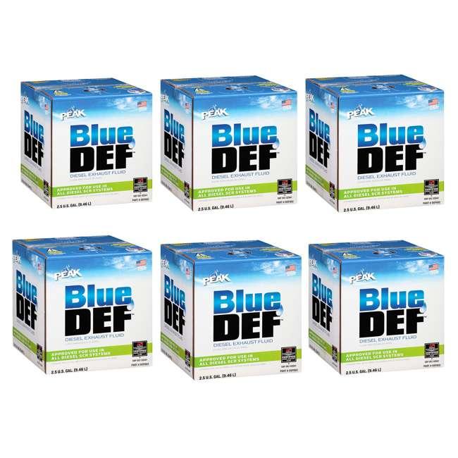6 x DEF002 BlueDEF Diesel Exhaust Fluid 2.5-Gallon Jug (6 Pack)
