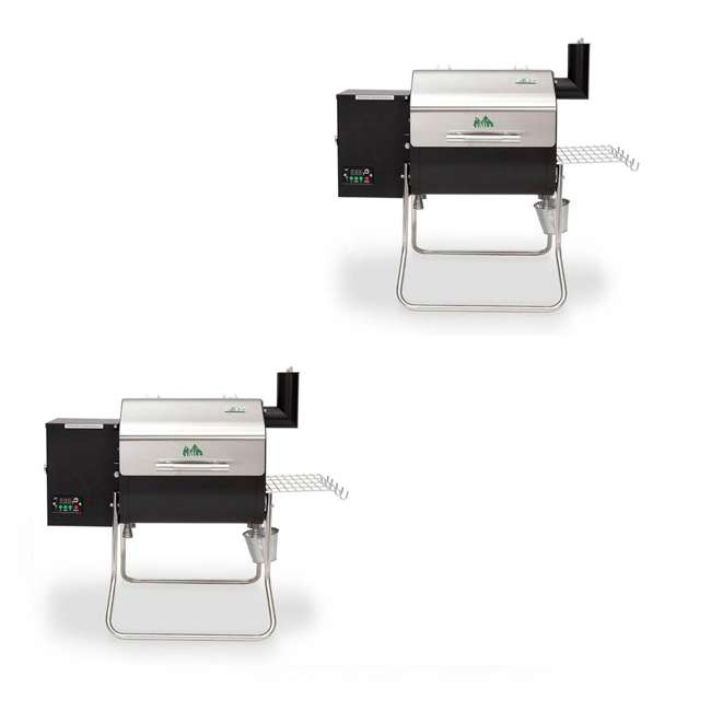 GMG-DCWF-GRILL Green Mountain Davy Crockett Wifi Control Portable Wood Pellet Grill (2 Pack)