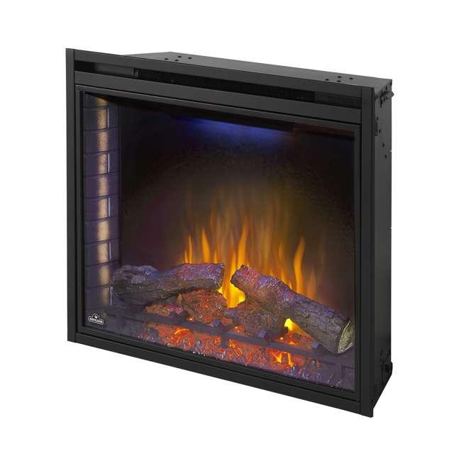 NEFB33H-OB Napoleon Ascent 33 9000 BTU Built-In Electric Fireplace Insert (Open Box) 4
