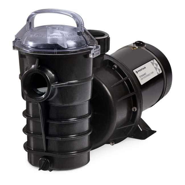 340189 Pentair 340189 DYNII-N1 Dynamo 1 HP 115V 1 Speed Above Ground Pool Pump w/ Cord