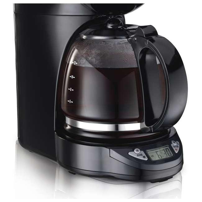 49758A Proctor Silex 12-Cup Coffee Maker, Black  4