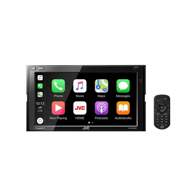 KW-M845BW JVC Mobile KW-M845BW Digital Media Receiver with Remote 1