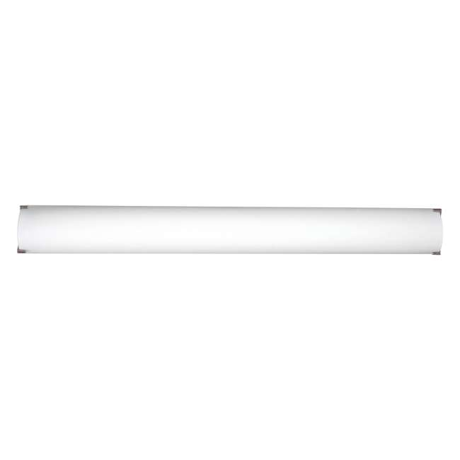 PLC-FT0002836-U-A Philips Forecast 40W LED Edge Bathroom Wall Light, Satin Nickel (Open Box)