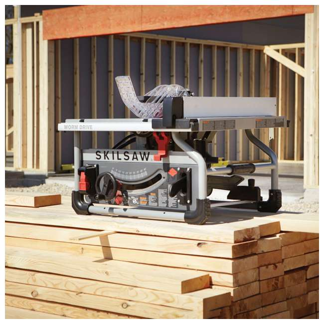 SPT70WT-22-OB Skilsaw SPT70WT-22 10-Inch Portable Worm Drive Table Saw (Open Box) 4