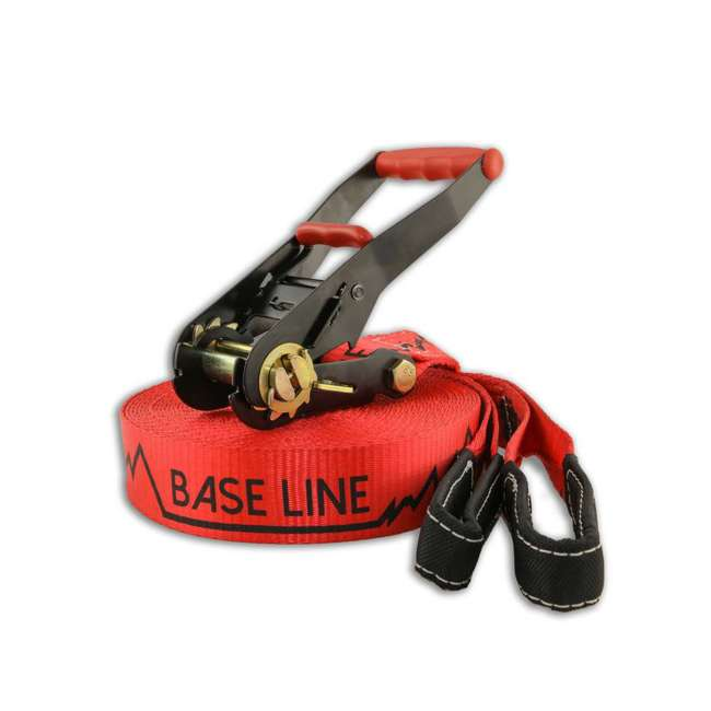 SI00085Z-U-A Slackline Industries Baseline Complete Kit with Tree Protection (Open Box) 2