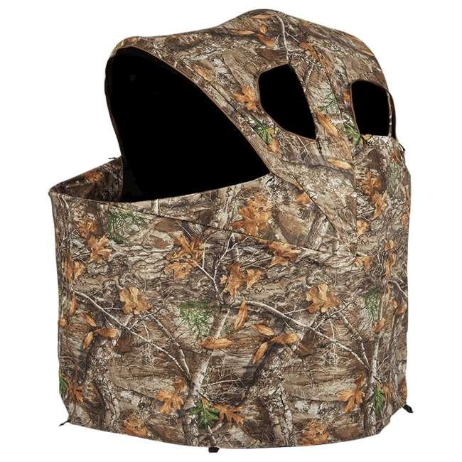 AMEBL2001-U-B Ameristep Durashell Plus Portable Camouflage Hunting Tent Chair Blind (Used)