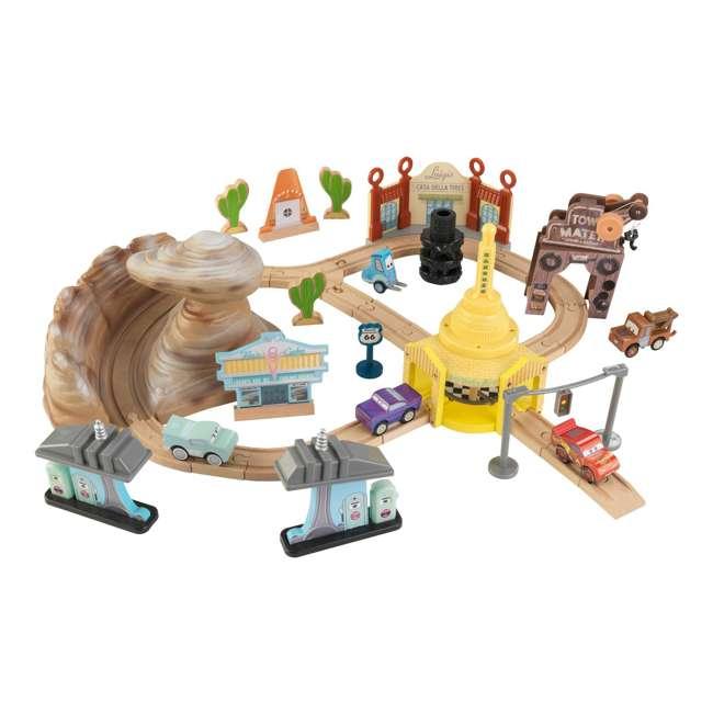 KDK-18013 KidKraft Disney Pixar Cars 3 50-Piece Radiator Springs Track Set