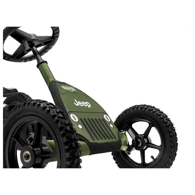 24.21.34.01 BERG Toys Jeep Junior Pedal Powered Adjustable Kid Go-Kart, Green 2