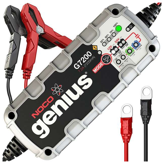 G15000 Noco Genius 15 Amp Battery Charger with JumpCharge Engine Start 10