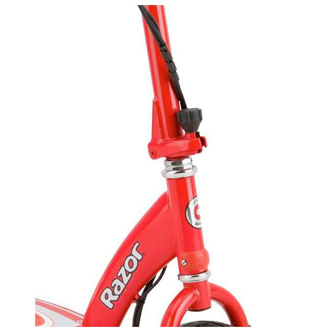 13113697 + 97778 Razor E300 Electric Red Scooter And Razor V17 Youth Helmet 6