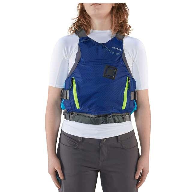 NRS_40036_02_101 NRS Women's Siren PFD Life Jacket, Teal, XS/Medium 5