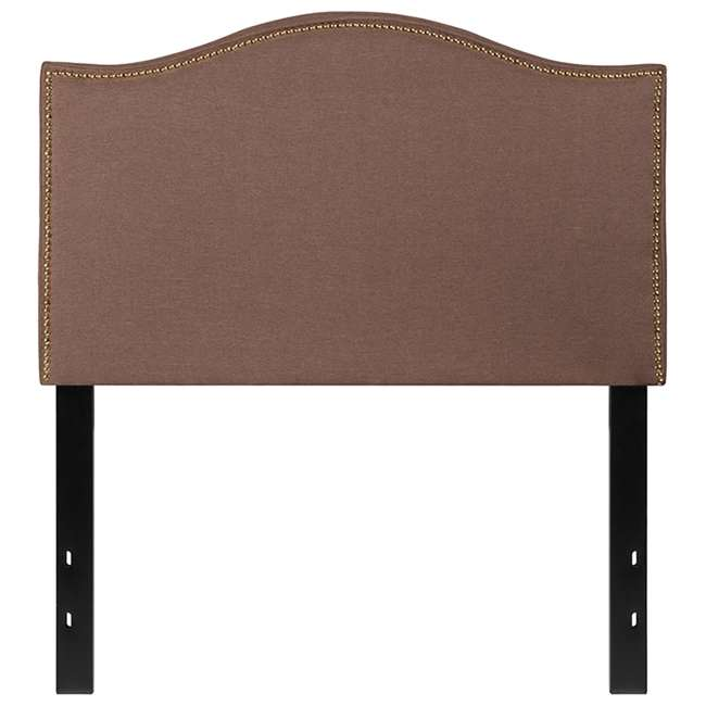 HG-HB1707-T-C-GG Flash Furniture Lexington Upholstered Twin Size Headboard with Camel Fabric
