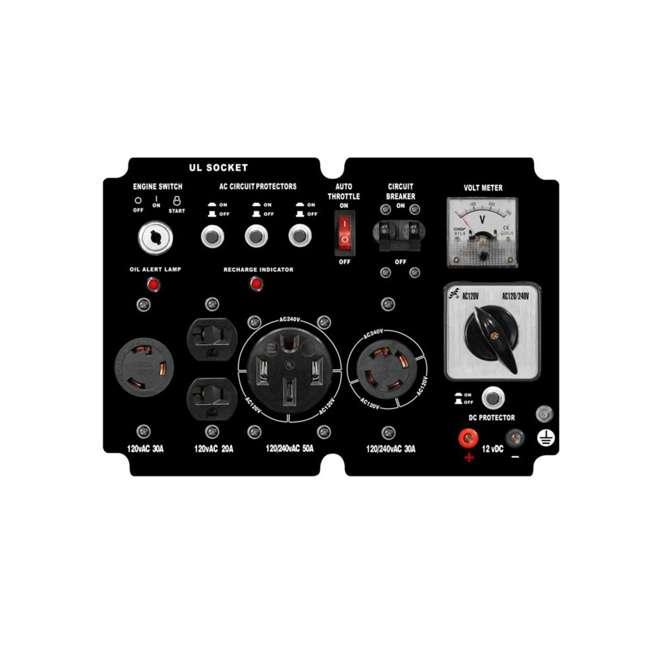 XP10000E + XPLGC DuroMax 10000 Watt Portable Gas Generator & Generator Cover, Black 6