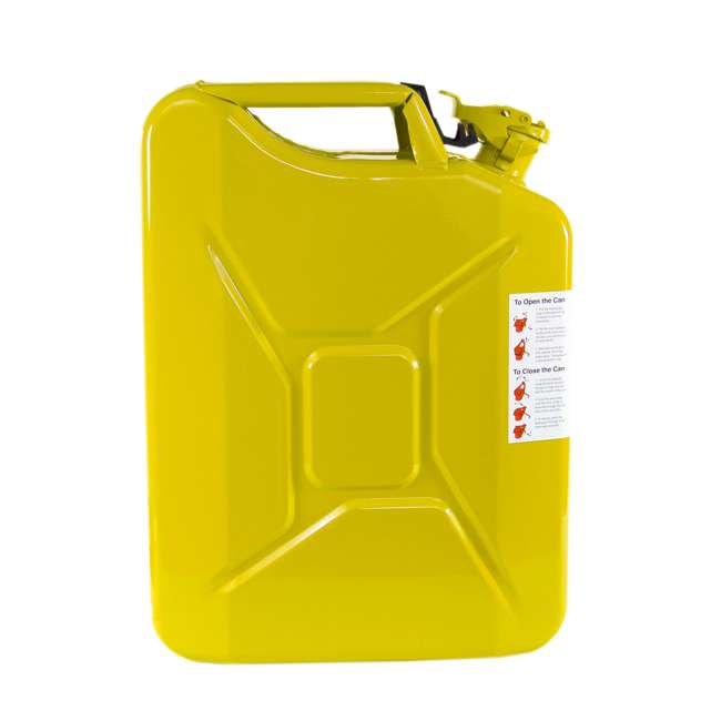3011-WAV-OB Wavian 3011 5.3 Gallon 20L Authentic Fuel Can and Spout, Yellow(Open Box) 3