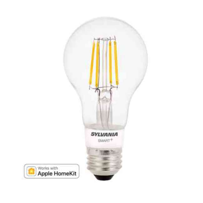 SYL-74979-U-A Sylvania Smart+ Bluetooth Filament A19 LED Light Bulb (Open Box) (2 Pack)