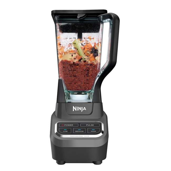 BL610_EGB-RB Ninja Professional 1000 Watt Blender (Refurbished)