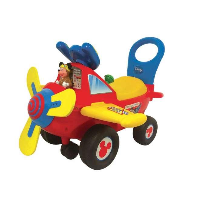 KDL-53561 Kiddieland Disney Mickey Mouse Clubhouse Plane Light & Sound Activity Ride On