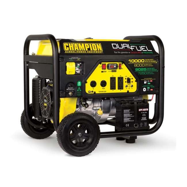CPE-GN-100297 Champion 8000-Watt Portable RV-Ready Dual-Fuel Generator (2 Pack) 1
