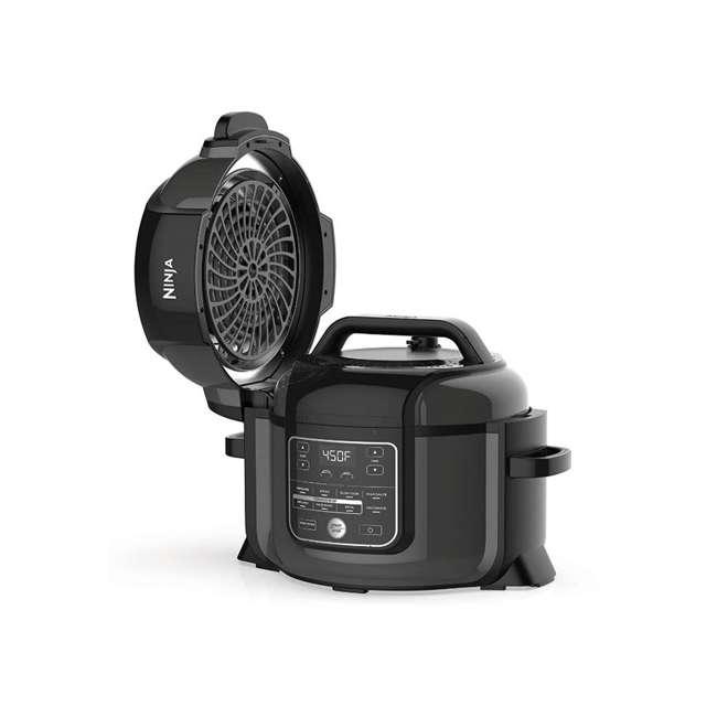 OP302HB_EGB-RB Ninja Foodi 6.5qt Pressure Cooker that Crisps Air Fryer (Certified Refurbished) 1