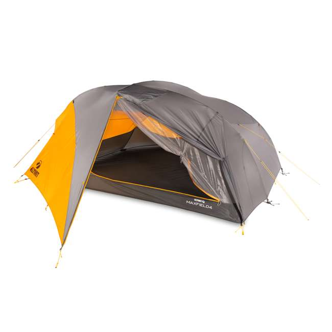 09M4OR01D Klymit 09M4OR01D Maxfield 4 Person 3 Season Lightweight Backpacking Camping Tent