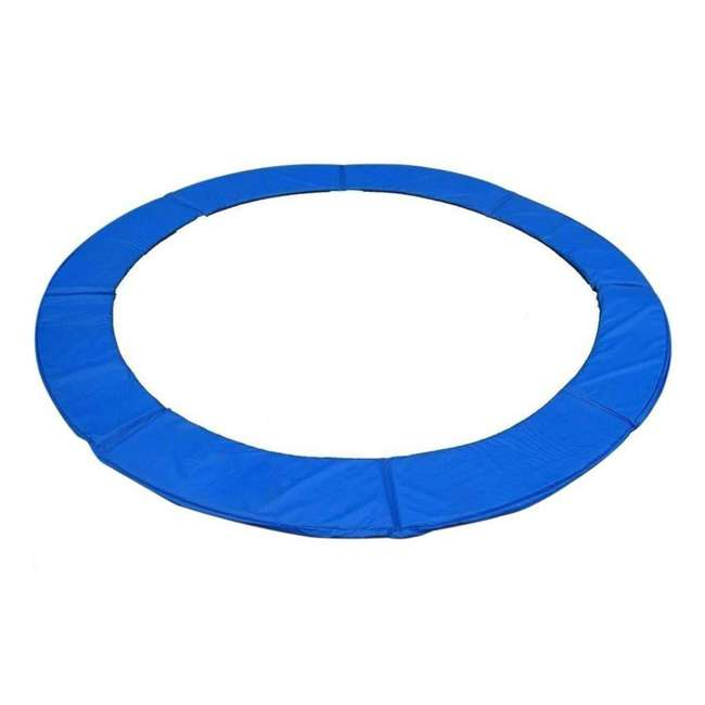 6180-CP12B Exacme 12 Foot Round Trampoline Frame Spring Cover Safety Pad Replacement, Blue