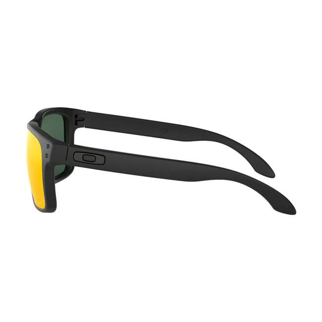 OO9102-E255 Oakley OO9102-E255 Standard Fit Holbrook Sunglasses, Matte Black/Prizm Ruby 3