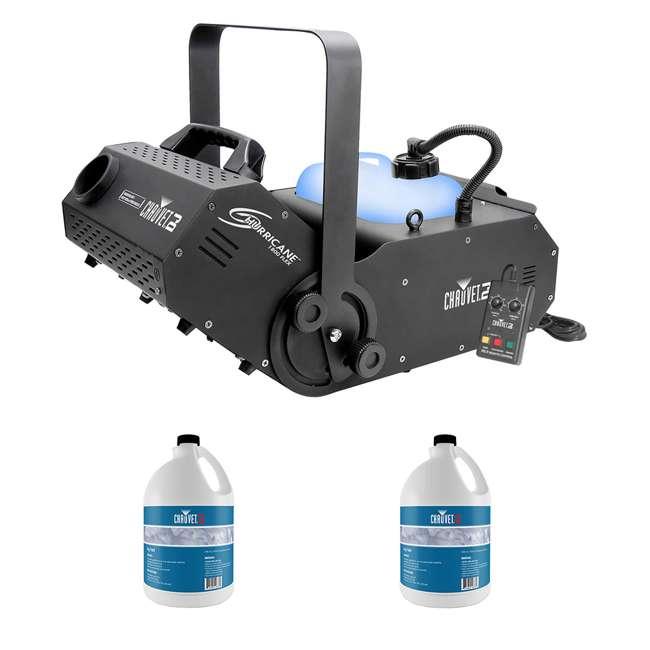 H1800FLEX + 2 x HDF Chauvet Fog Pro Machine w/ Timer Remote & 2 Gallons Fog