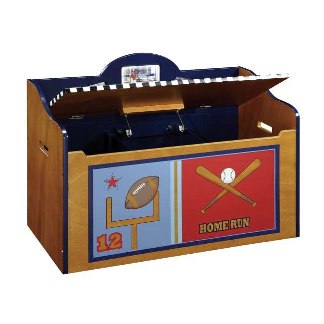 G85604 Guidecraft Playoffs Wood Toy Box 1
