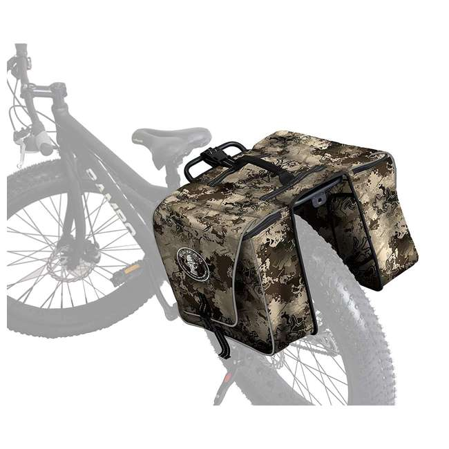 R163 Rambo Bikes R163 Bicycle Waterproof Saddle Luggage Accessory Bag, True Timber