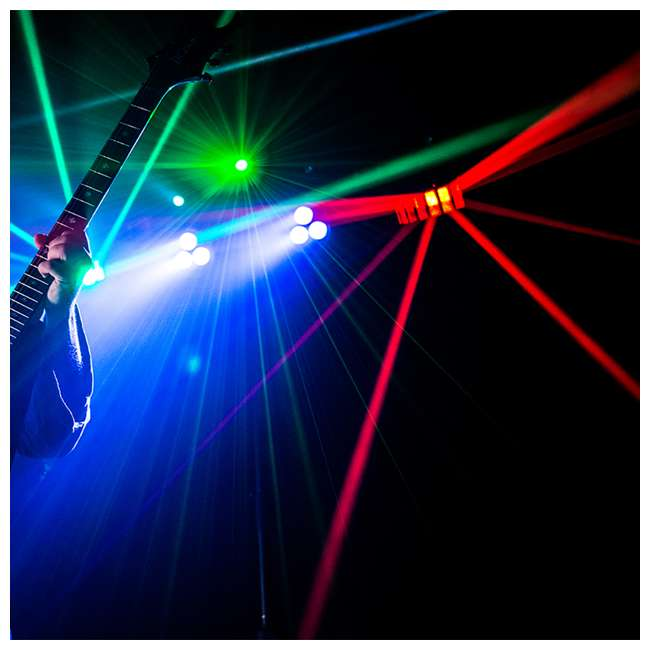 GIGBAR2-U Chauvet DJ GigBAR 2 Light System with IRC Remote and Foot Control 7