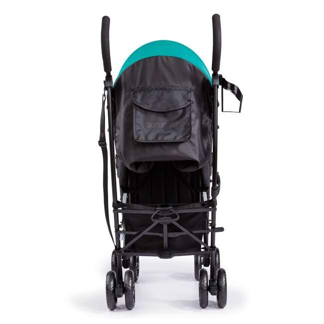 32693 Summer Infant 3Dlite Lightweight Folding Convenience Toddler Baby Stroller, Teal 5