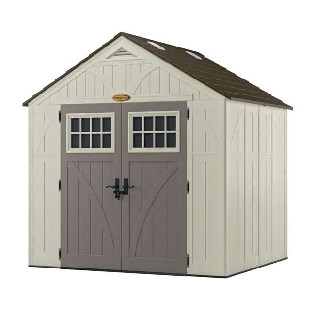 BMS8700 Suncast  8' x 7' Outdoor Patio and Garden Storage Shed