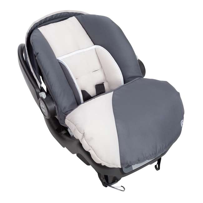 CS79C81A Baby Trend Ally Adjustable 35 Pound Infant Baby Car Seat and Base (2 Pack) 4