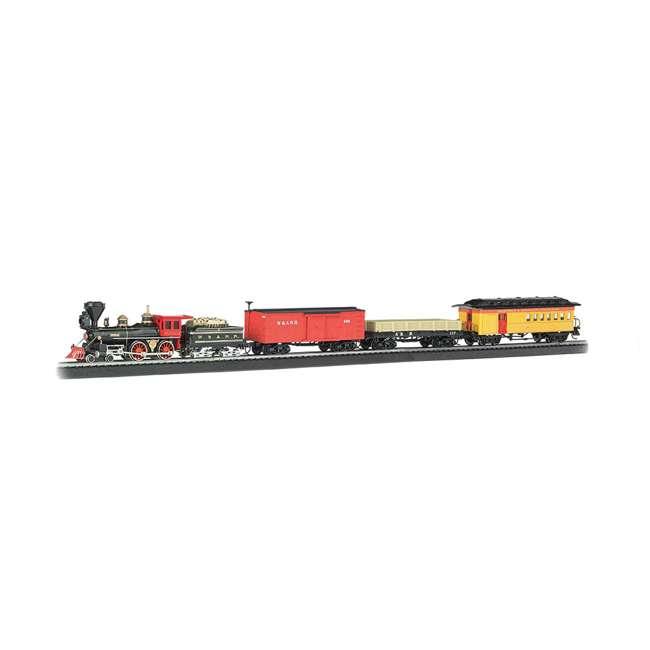 BT-00736-U-C Bachmann Trains The General Civil War 1:87 Ho Scale Model Train Set (For Parts) 1